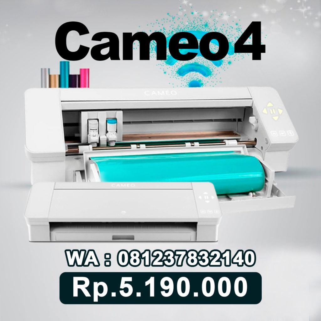 JUAL MESIN CUTTING STICKER CAMEO 4 Batang