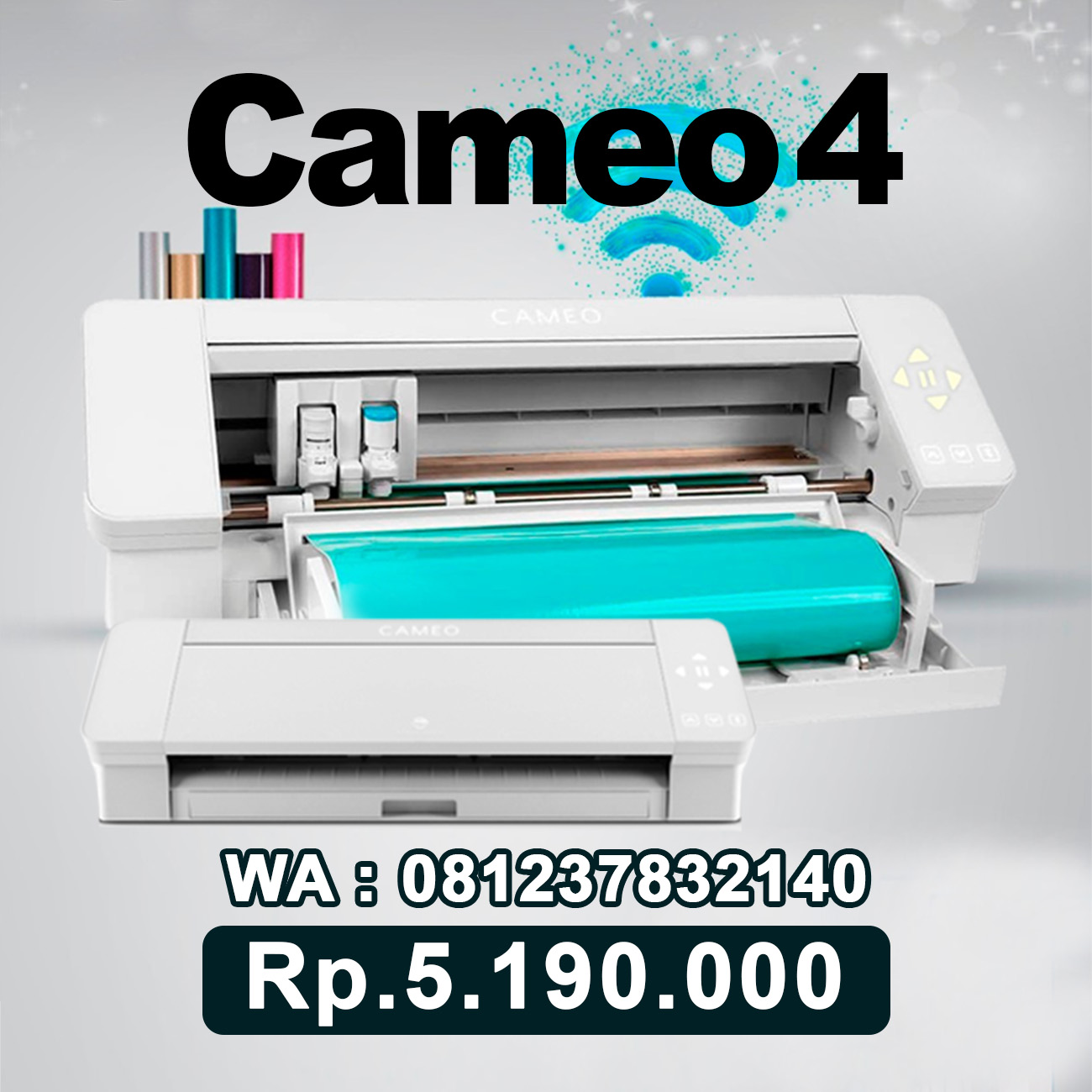 JUAL MESIN CUTTING STICKER CAMEO 4 Metro