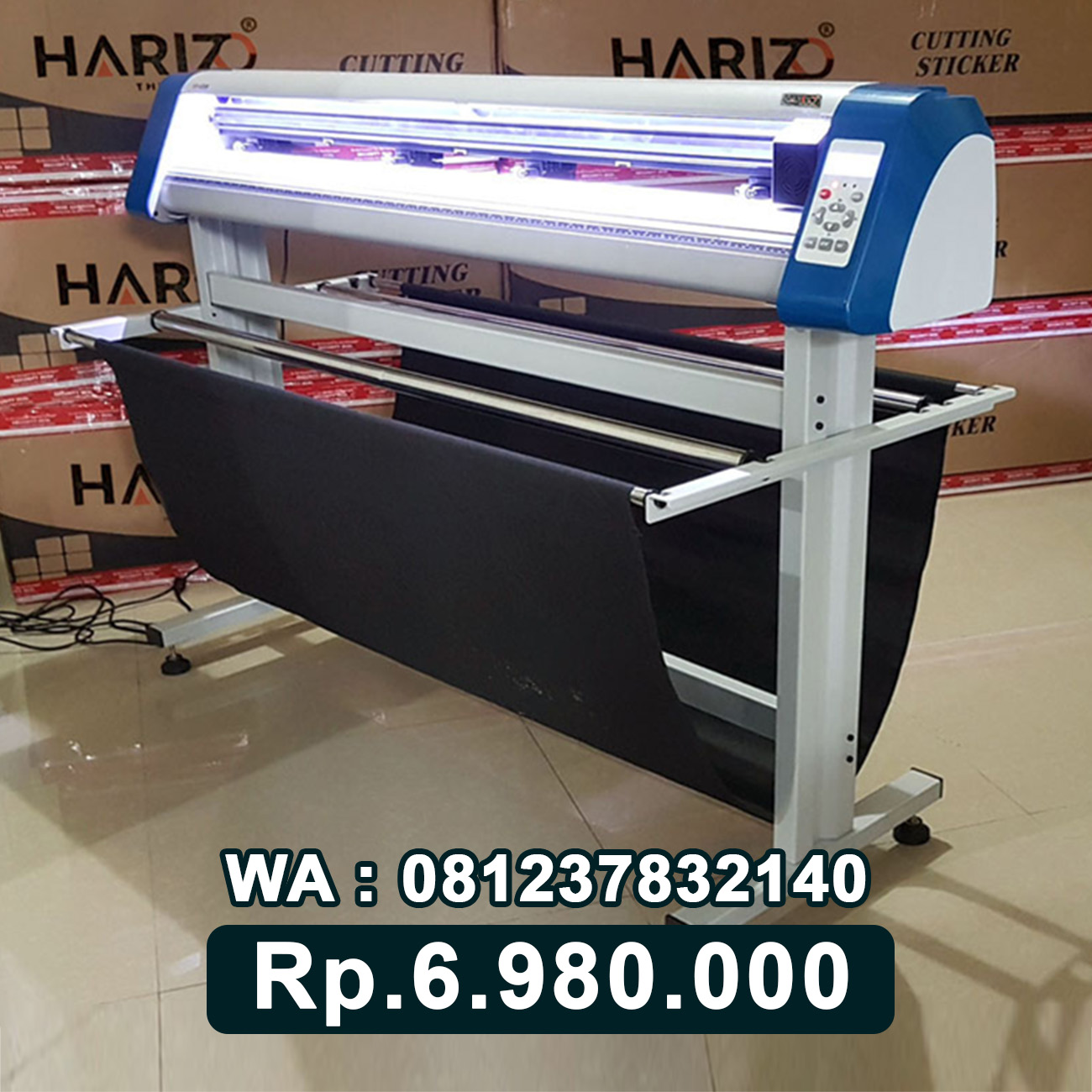 JUAL MESIN CUTTING STICKER HARIZO 1350 Tanjung Selor