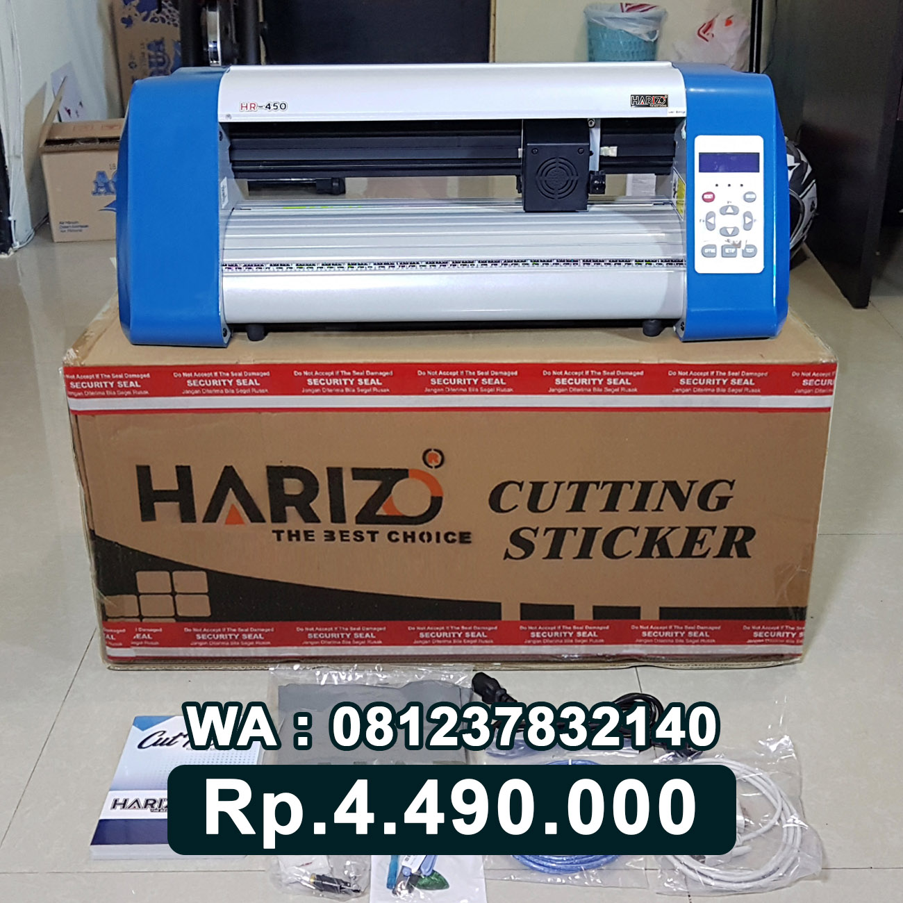 JUAL MESIN CUTTING STICKER HARIZO 450 Tanjung Selor