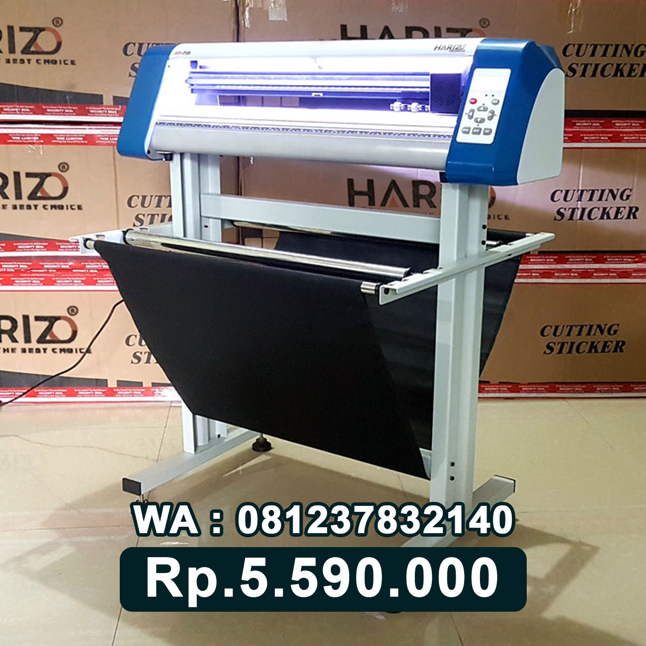 JUAL MESIN CUTTING STICKER HARIZO 720 Tanjung Selor