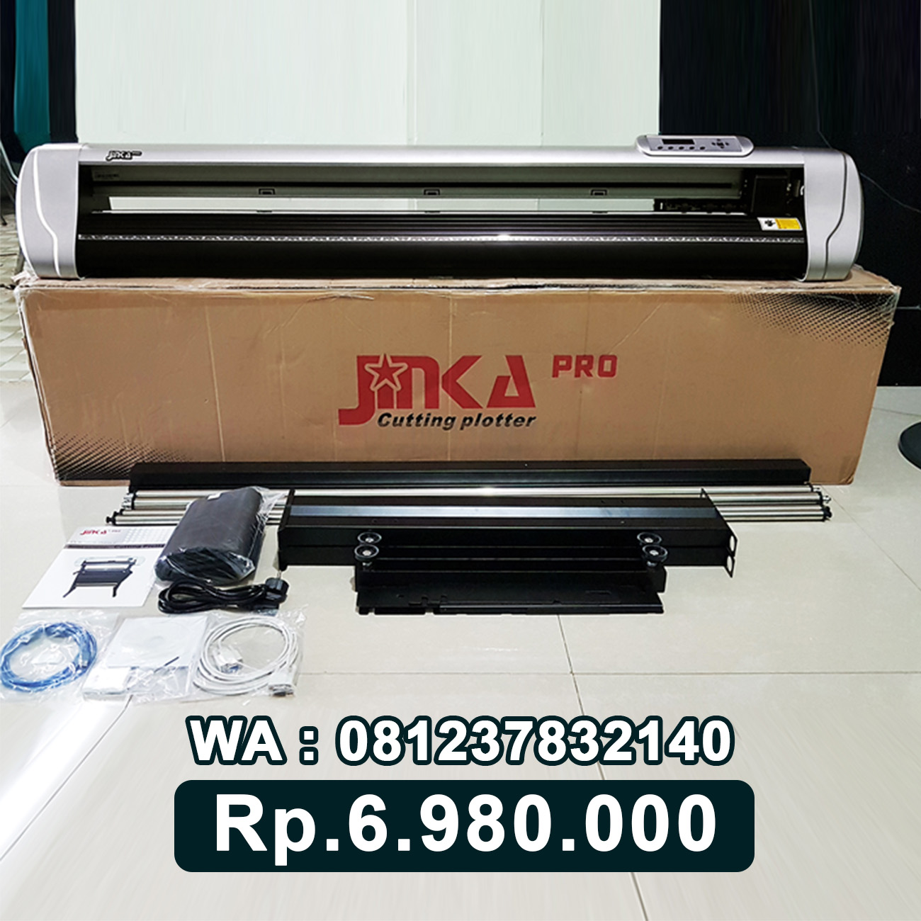 JUAL MESIN CUTTING STICKER JINKA PRO 1351 LED Bali