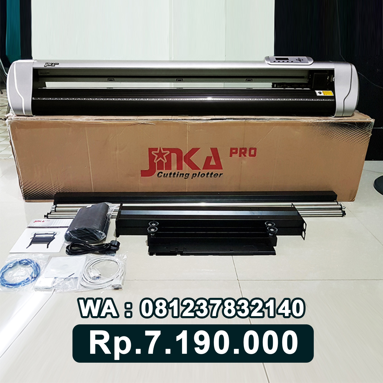 JUAL MESIN CUTTING STICKER JINKA PRO 1351 LED Larantuka