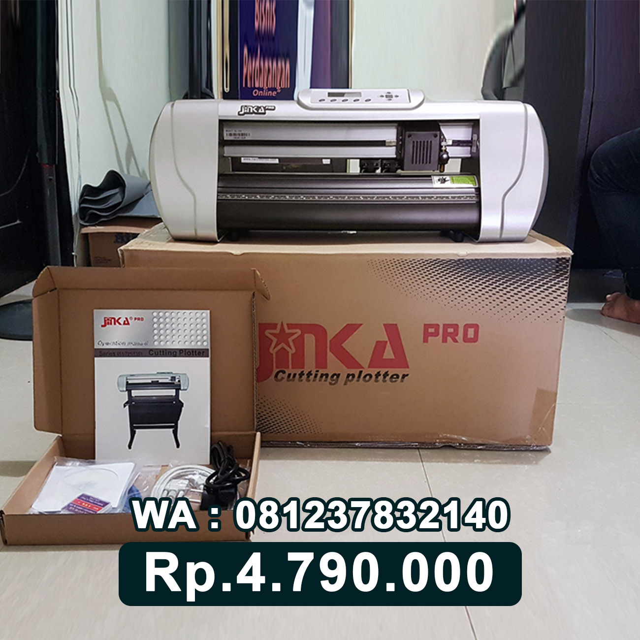 JUAL MESIN CUTTING STICKER JINKA PRO 451 LED Bali