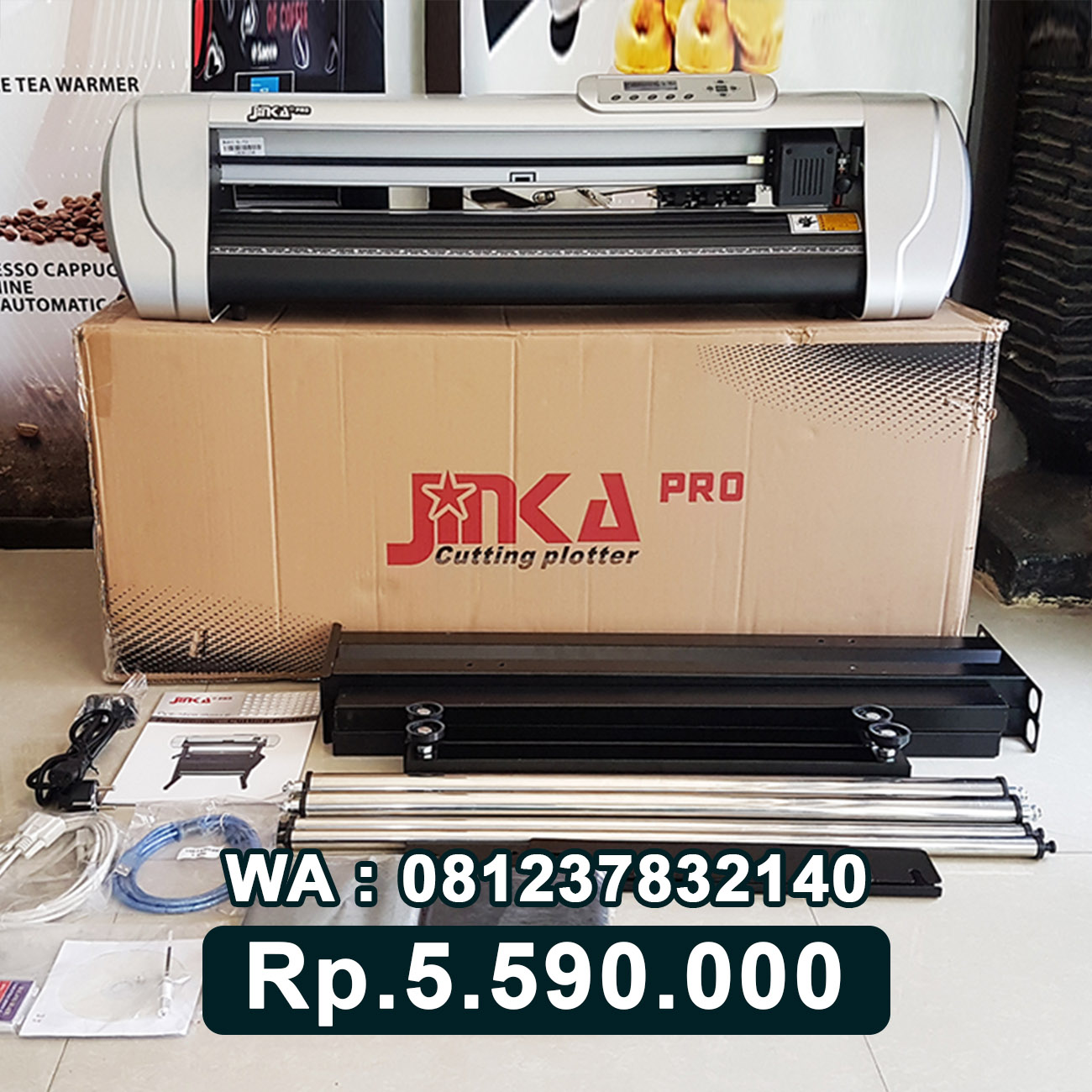 JUAL MESIN CUTTING STICKER JINKA PRO 721 LED Nusa Tenggara Barat NTB