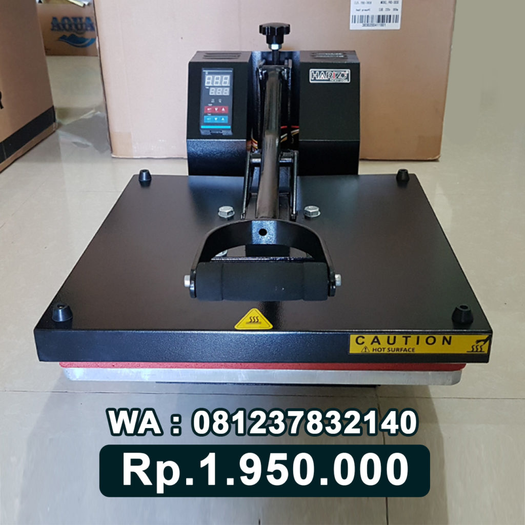 JUAL MESIN PRESS KAOS DIGITAL 38x38 HITAM Bau-Bau