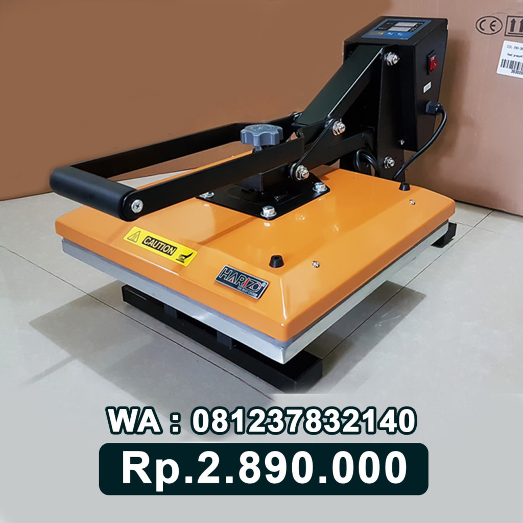 JUAL MESIN PRESS KAOS DIGITAL 38x38 KUNING Bau-Bau