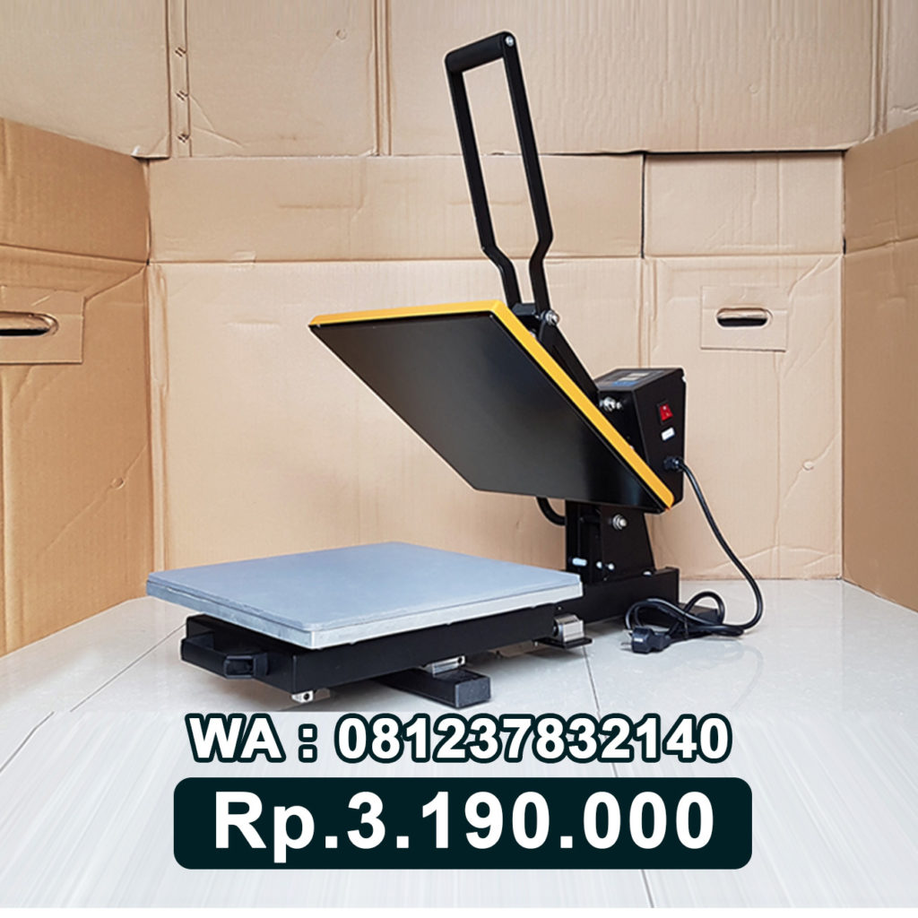 JUAL MESIN PRESS KAOS DIGITAL 38x38 Sliding Tanjung Balai