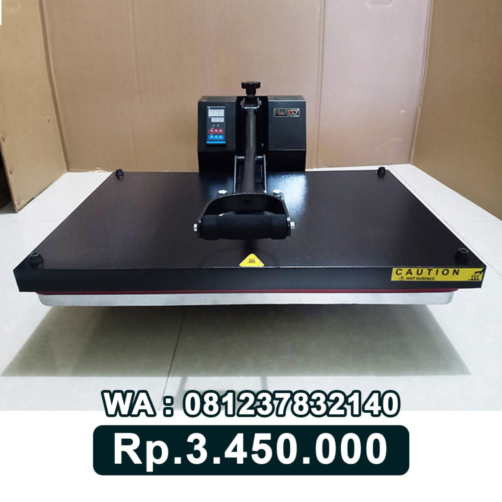 JUAL MESIN PRESS KAOS DIGITAL 40x60 HITAM Solo