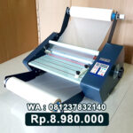 MESIN LAMINATING ROLL ALAT LAMINASI KERTAS Tegal