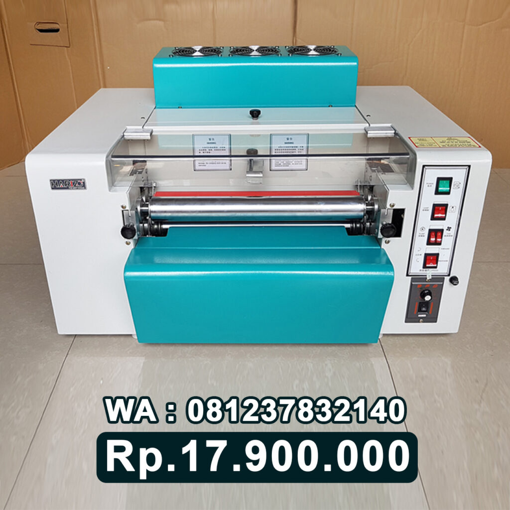 JUAL MESIN LAMINATING ROLL UV VARNISH ALAT LAMINASI KERTAS UV SPOT Bandung